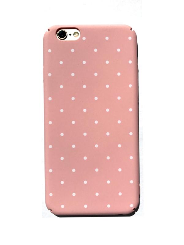 Telefoonhoesje - Iphone 7 / 8 - Dotty Dot Pink
