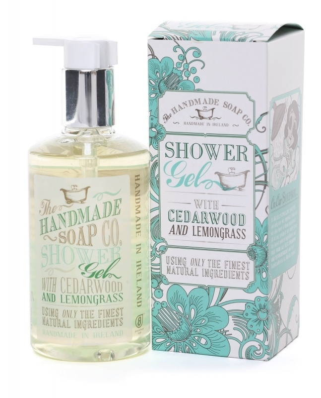 Cedarwood and Lemongrass Shower Gel - 100% Natuurlijk