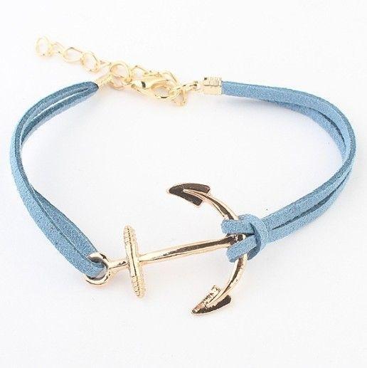 Armband - Anchor Light Blue