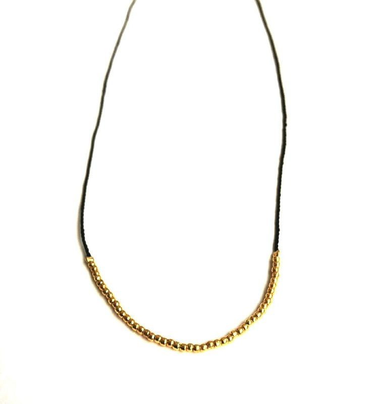 Ketting - Simple Chique - Black Perfection