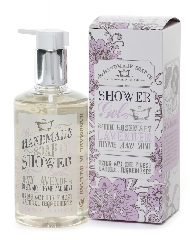 Lavender, Rosemary, Thyme and Mint Shower Gel - 100% Natuurlijk