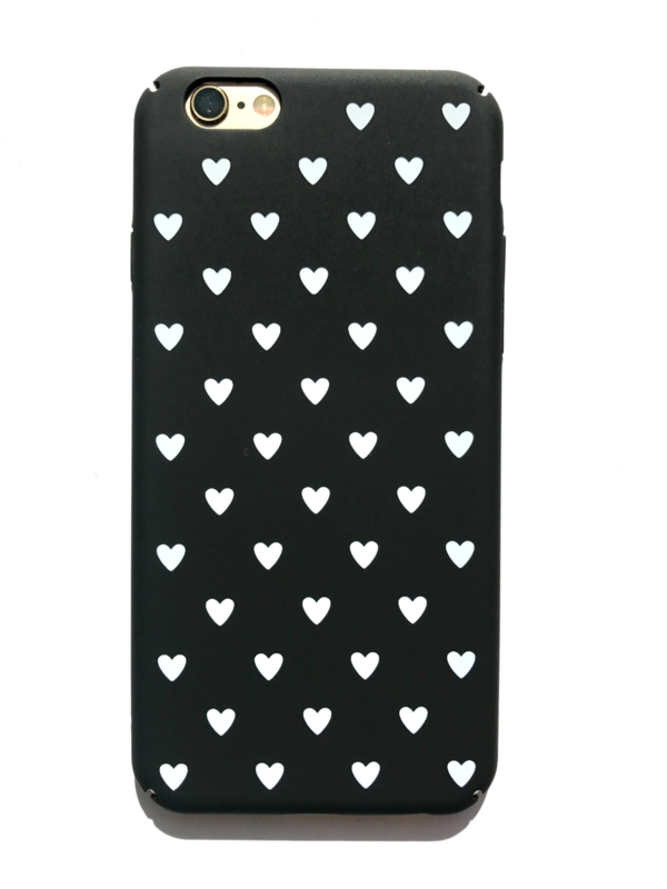 Telefoonhoesje - Iphone 6/6S - I Heart You Black