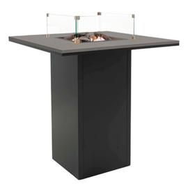Cosiloft 100 Bar Tafel Zwart frame / Grijs blad