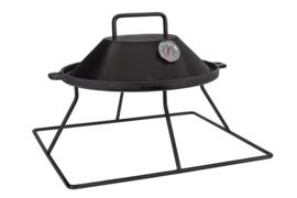 EasyFires Opzet BBQ / Grillplaat vierkant (48x48cm)