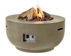 Happy Cocooning Vuurtafel  - Bowl Taupe