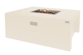 Easy Fires vuurtafel Sky rectangle Creme