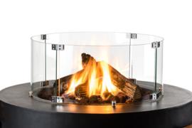 Happy Cocooning Glazen Ombouw Vuurtafel Cone, Bowl & Ovaal
