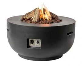 Happy Cocooning Vuurtafel  - Bowl Zwart