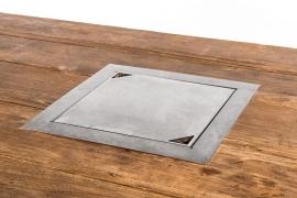 Happy Cocoon inbouwbrander vierkant 39 x 39 cm