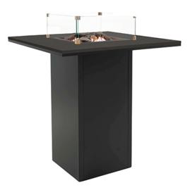 Cosiloft 100 Bar Tafel Zwart frame / Zwart blad