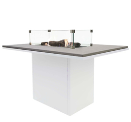Cosiloft 120 High Dining Table Wit/Grijs