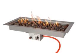 Easyfires Inbouwbrander rechthoek