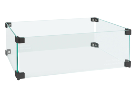 Easyfires Glasombouw rechthoek 54x29x17 cm zwart