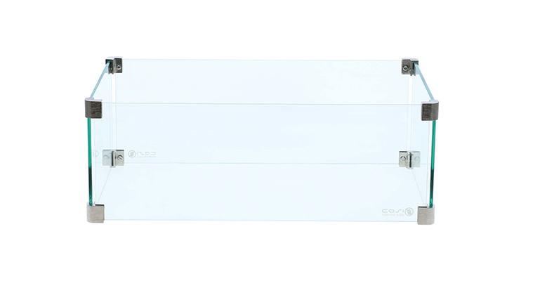 Cosi glasset rectangular / rechthoek 55x35 cm
