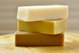 Vetiver zeep (biologische handgemaakte zeep).