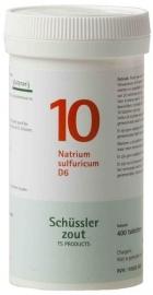 Schüssler Nummer 10: Natrium sulfuricum