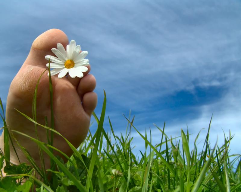 Onze voeten dragen ons en leiden ons naar nieuwe werelden