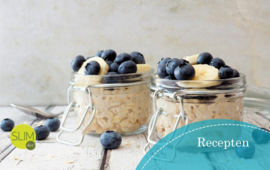 Overnight oats met havermout