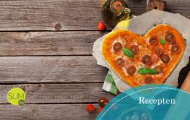 Een liefdevolle pizza
