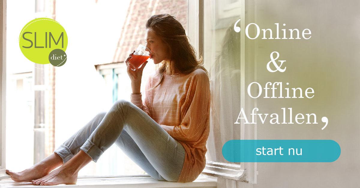 Online en offline afvallen!