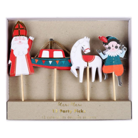 Sinterklaas cupcake topper
