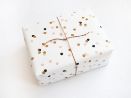 Wrapping paper - Confetti design