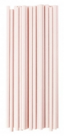 Paper drinking straws pink