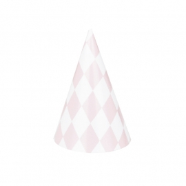 Party hat pink diamond
