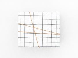 Inpakpapier | Brush grid