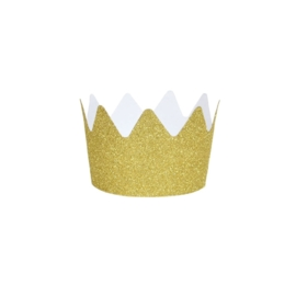 Glitter crown gold