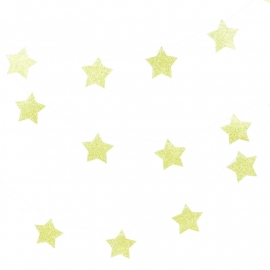 Star golden garland