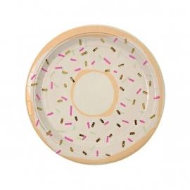 Donut papieren bordjes