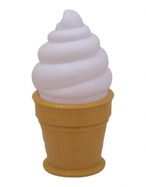 Ice cream lamp | white