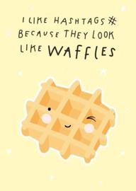 Postcard waffles