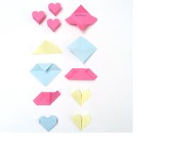 Pictorial Hart Origami