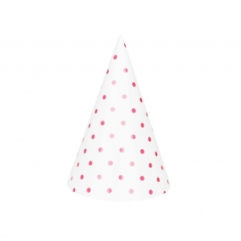 Party hat pink dots