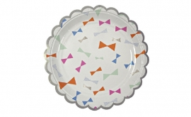 Bow party paper plates