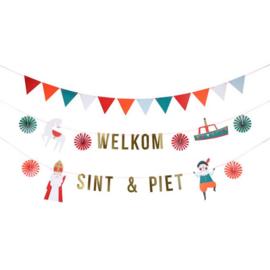 Sint en Piet Slinger | Welkom Sint en Piet