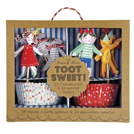 Toot Sweet cupcake kit