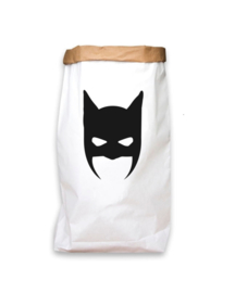 Paperbag L Monochrome Bat Mask