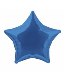 Folieballon ster  50 cm | Royal Blue