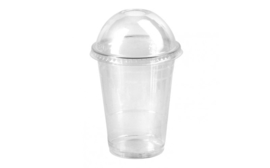 Transparent dome cups