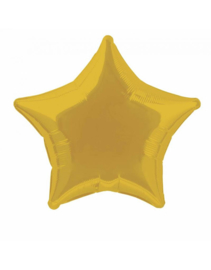 Foil Balloon Star 50 cm | Gold