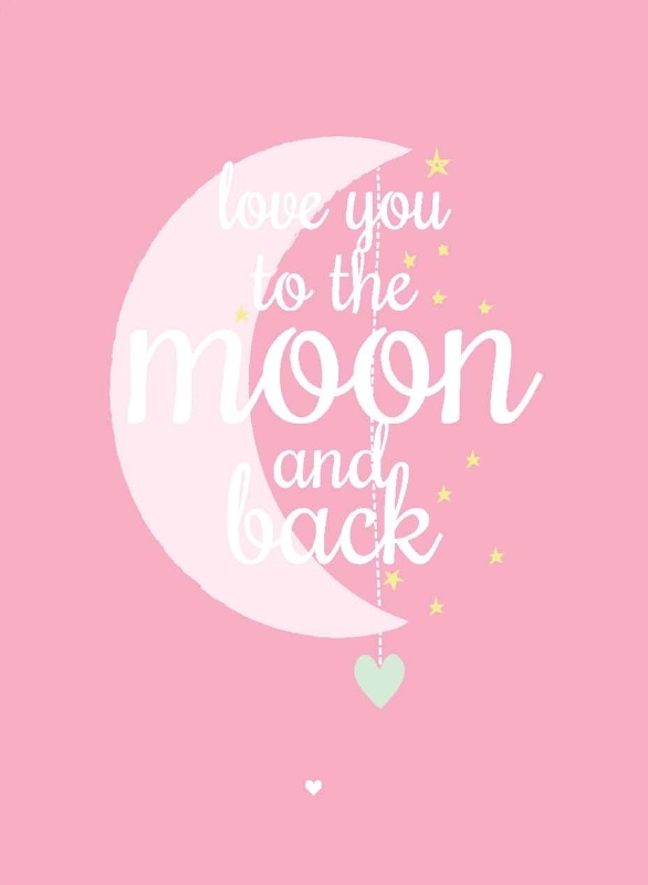 Love You To The Moon | Roze