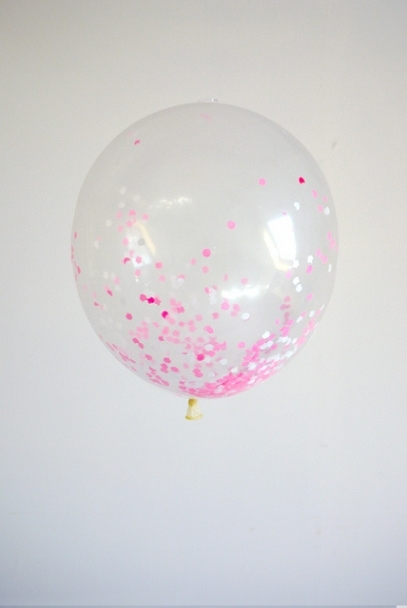 Sweet Girl Confetti ballon