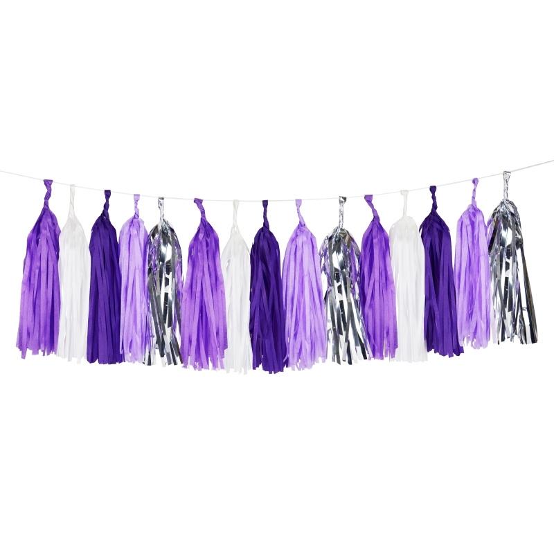 Tassels purple