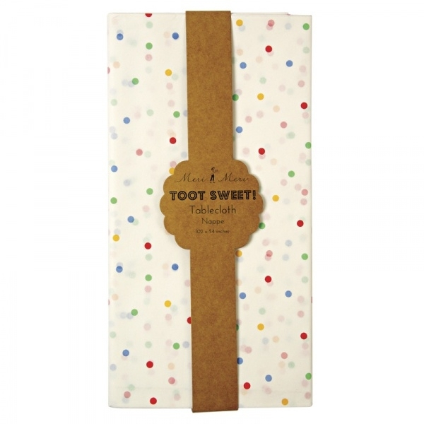 Toot Sweet tafelkleed confetti