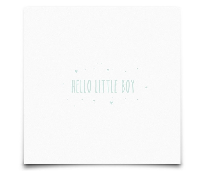 Hello Little Boy