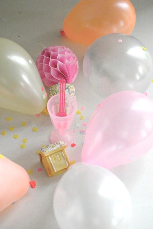 XXS Cute pastel ballon | Roze