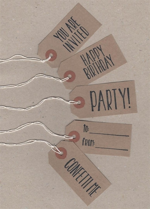 Party label kraft